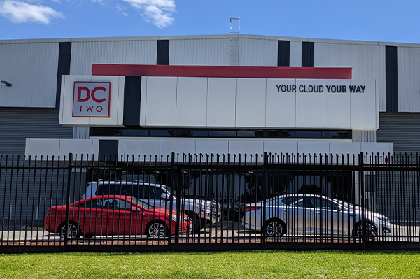 The Bibra Lake data centre feature frontage and new signage