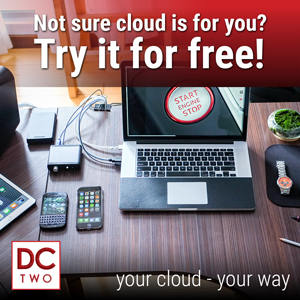 Not sure if cloud is for you? Try it for free!
