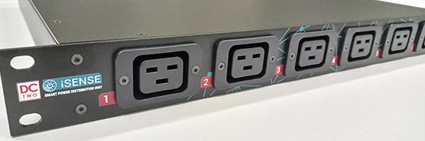 iSense PDU front ports