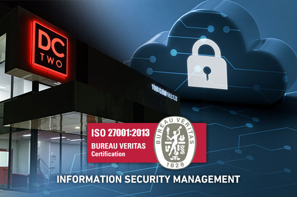ISO 27001 accreditation for information security for cloud, data centre and software