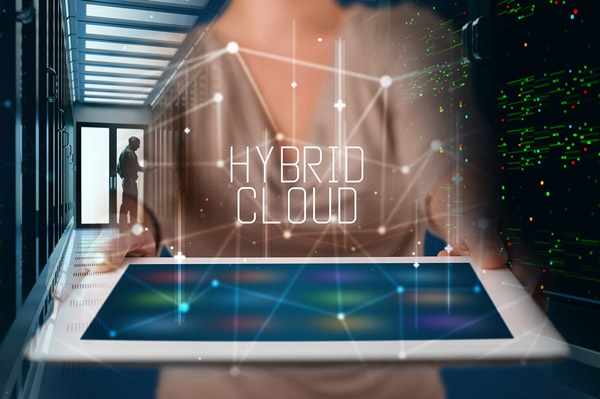 A combination of on-site server, public and private cloud can be the best hybrid solution